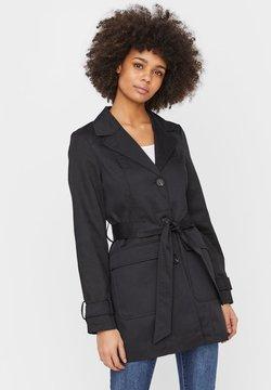 Vero Moda - Trenchcoat - black