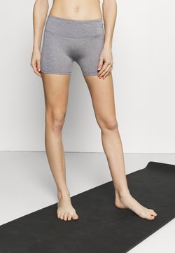 Cotton On Body - SHORTIE SHORT - Tights - mid grey