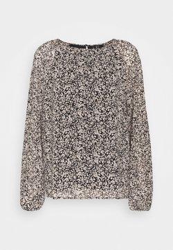 Vero Moda - VMSAFFRON TOP  - Bluse - black/white