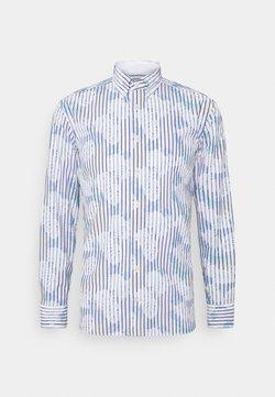 Hackett London - HISBICUS BENGAL STRIPE PRINT SLIM FIT - Hemd - white/multi