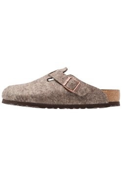 Birkenstock - BOSTON - Chaussons - cocoa