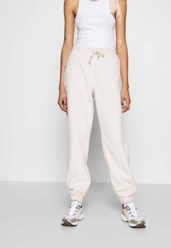 Monki - FANNY TROUSERS - Jogginghose - beige