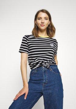 Superdry - DAKOTA STRIPE GRAPHIC TEE - T-Shirt print - black
