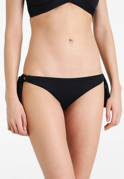 Seafolly - LOOP TIE SIDE HIPSTER - Bikini-Hose - black
