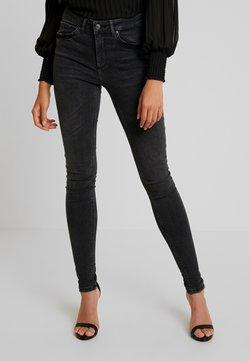Vero Moda - VMLUX SUPER SLIM - Jeans Skinny - black