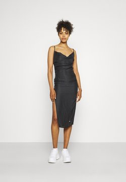 Sixth June - LEOPARD DRESS - Cocktailkleid/festliches Kleid - black
