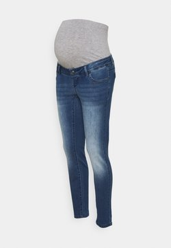 MAMALICIOUS - MLNOME - Vaqueros slim fit - medium blue denim