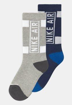 Nike Sportswear - AIR CREW 2 PACK UNISEX - Sokken - midnight navy