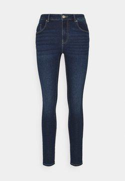 ONLY - ONLDAISY LIFE PUSH UP - Jeans Skinny Fit - dark blue denim