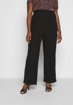 Vero Moda Curve - VMBLAIR WIDE PANT - Bukse - black