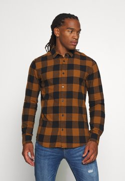 Only & Sons - ONSGUDMUND CHECKED - Hemd - brown