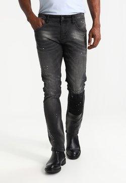 INDICODE JEANS - KALMAR - Slim fit jeans - black