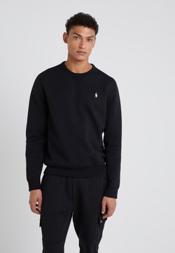 Polo Ralph Lauren - DOUBLE TECH - Pitkähihainen paita - black/cream