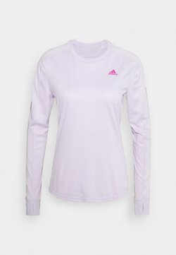 adidas Performance - SPORTS RUNNING LONG SLEEVE - Funktionsshirt - purple