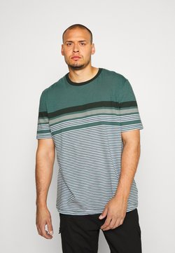 Jack & Jones - JCOBLUE TEE CREW NECK - T-shirt imprimé - north atlantic
