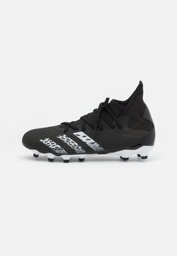 adidas Performance - PREDATOR FREAK .3 MG - Moulded stud football boots - core black/footwear white
