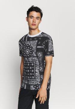 Nominal - KELVIN  - Camiseta estampada - black