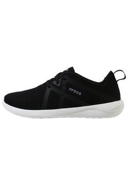 Crocs - LITERIDE  - Sneaker low - black / white