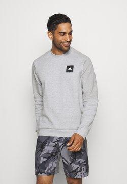 adidas Performance - CREW - Collegepaita - mottled grey