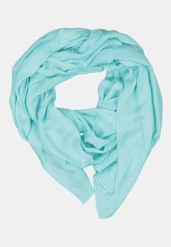 GINA LAURA - FRANSENKANTEN - Sjaal - turquoise