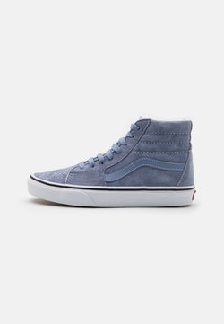 Vans - SK8 UNISEX - Korkeavartiset tennarit - tempest blue/true white