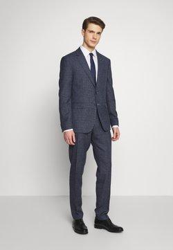 Tommy Hilfiger Tailored - BLEND  SLIM FIT SUIT - Anzug - blue