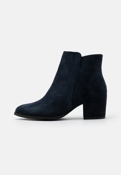 Anna Field - LEATHER  - Ankle Boot - blue