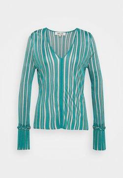 Diane von Furstenberg - SHIRLEY - Strickpullover - placid blue/pale pink