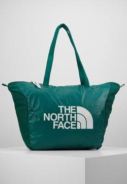 The North Face - STRATOLINE TOTE - Sporttasche - night green/tin grey