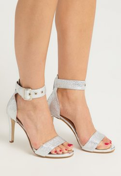 faina - Sandalen met hoge hak - silber