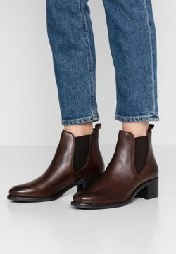 Anna Field - LEATHER BOOTIES - Ankelboots - brown
