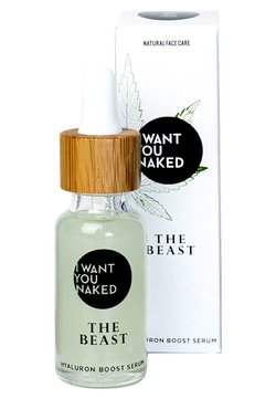 I WANT YOU NAKED - THE BEAST HEMP SERUM - Serum - -