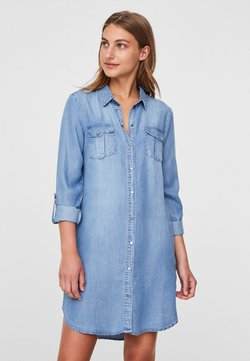Vero Moda - Spijkerjurk - light blue denim