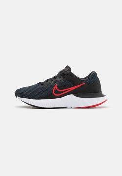 Nike Performance - RENEW RUN  - Zapatillas de running neutras - black/university red/dark smoke grey/white
