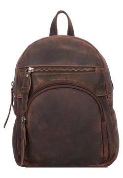 Greenburry - VINTAGE REVIVAL CITY - Tagesrucksack - tobacco