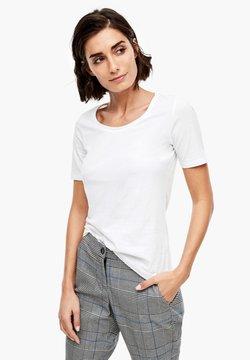 s.Oliver - T-Shirt basic - white