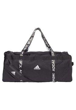 adidas Performance - 4ATHLTS 3 STRIPES DUFFEL BAG - Sporttasche - black