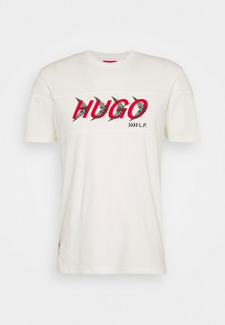 HUGO - DAPPEL - T-Shirt print - natural