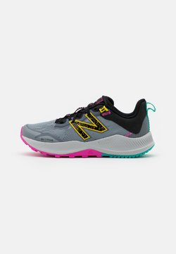 New Balance - YPNTRLL UNISEX - Obuwie do biegania Szlak - grey/yellow
