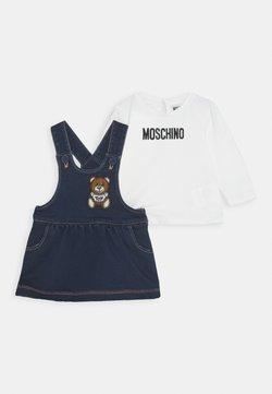 MOSCHINO - SET - Vestido vaquero - blue navy
