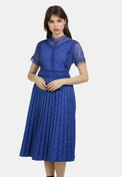 myMo ROCKS - KLEID - Cocktailjurk - blue