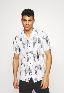 11 DEGREES - SHORT SLEEVE RESORT SHIRT - Camisa - white/grey