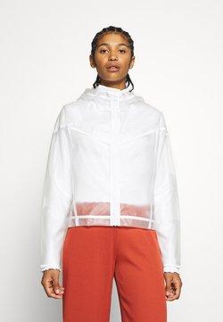 Nike Sportswear - TRANSPARENT - Bombejakke - white