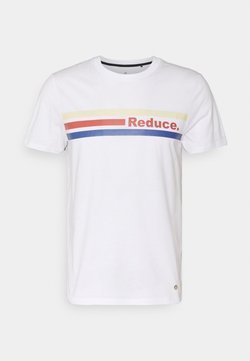 Faguo - ARCY UNISEX - T-Shirt print - white