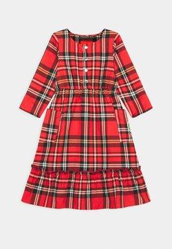 Mini Rodini - FLOUNCE DRESS - Freizeitkleid - red
