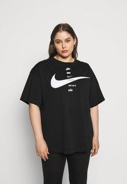 Nike Sportswear - T-Shirt print - black/white