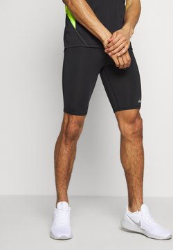 Diadora - SHORT  - Tights - black