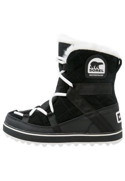 Sorel - GLACY EXPLORER SHORTIE - Snowboot/Winterstiefel - black