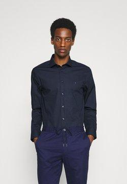 Tommy Hilfiger Tailored - DOT PRINT SLIM - Businesshemd - navy/blue