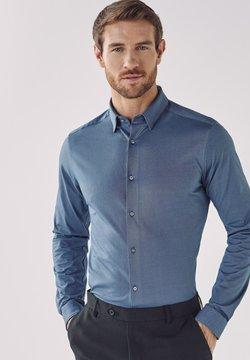 Next - MOTION FLEX KNITTED - Businesshemd - blue